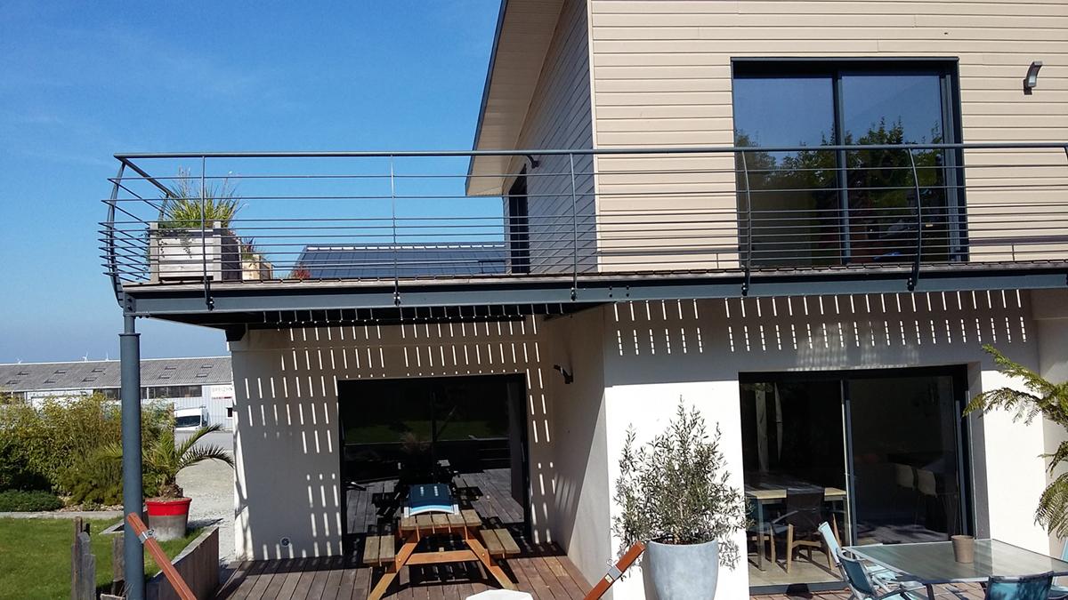 Aménagement terrasse en Finistère nord