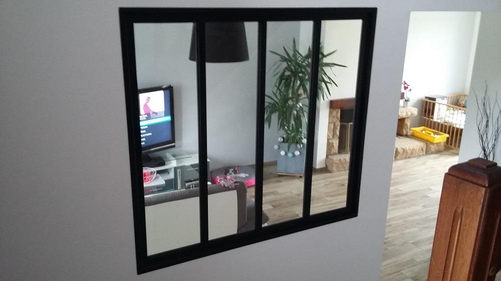 pose de verri res en finist re acm chassis verri re type atelier. Black Bedroom Furniture Sets. Home Design Ideas