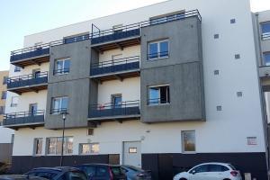 Chantier immeuble neuf : Balcons et Garde-corps (Brest Recouvrance)
