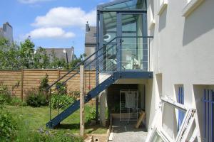 Création escalier extérieur Brest