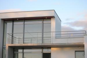 Garde-corps droit sur balcon