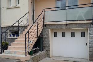 Garde-corps sur escalier et balcon Brest