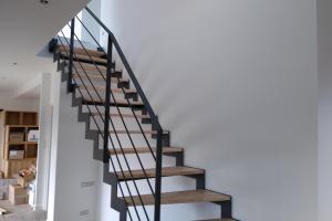 escalier en acier à crémaillère