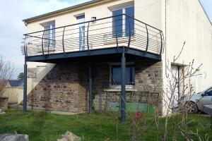 Terrasse métallique Camaret